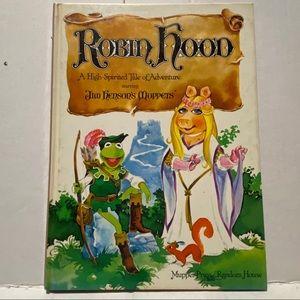 Robin Hood muppets book